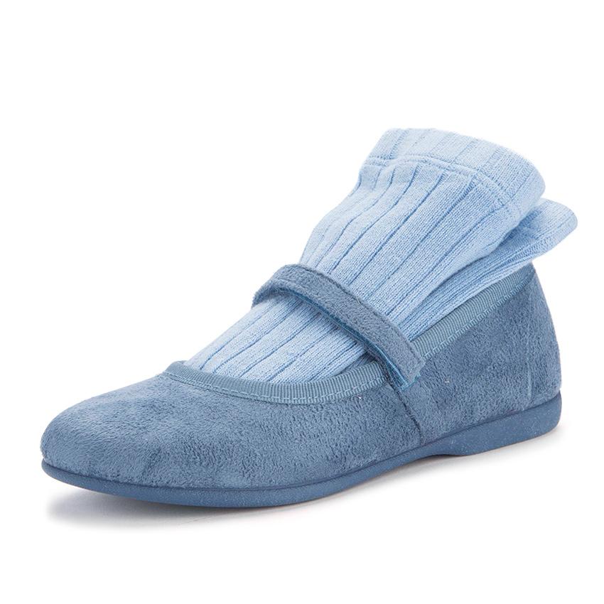 fotografia zapato azulado