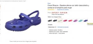 Ficha producto Amazon