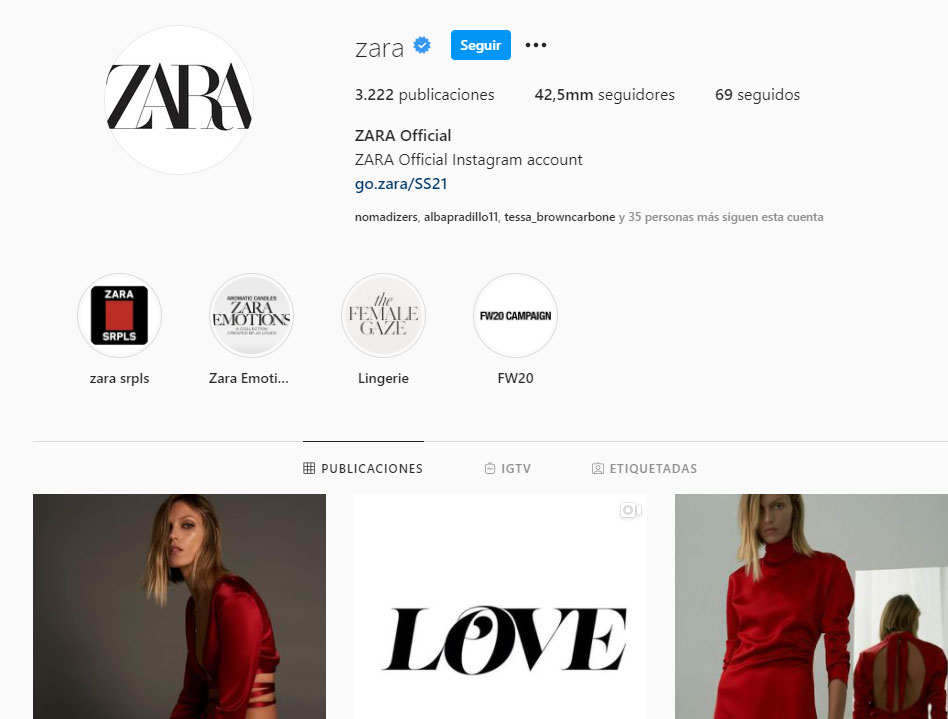 Retailers de moda vendiendo en instagram