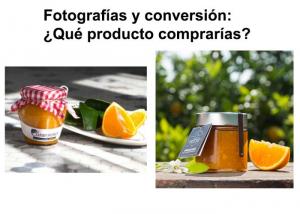 Fotografías y conversión