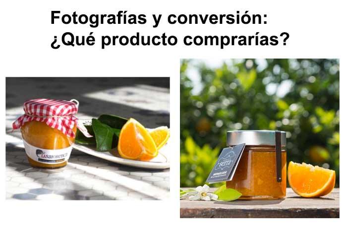 La fotografía afecta a la conversión