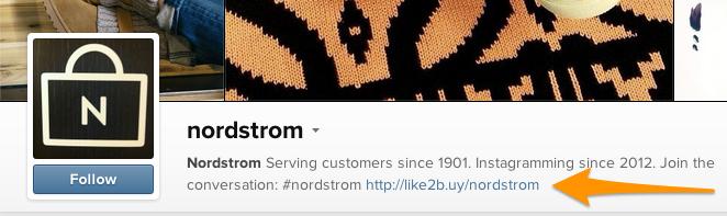 Nordstrom vende en Instagram