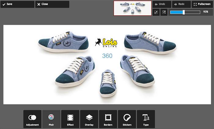 Pixlr es un gran editor online para imágenes