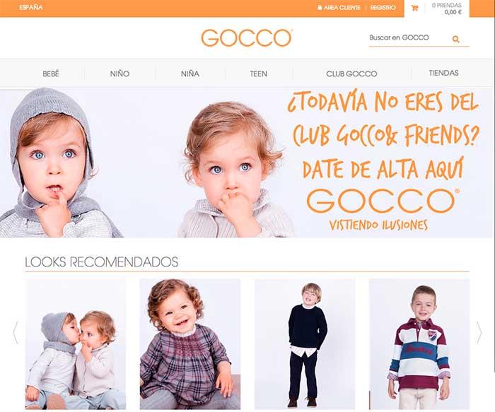 Gocco destaca su programa de fidelización desde la propia home