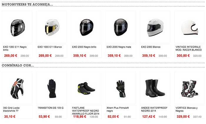 Cross-selling en motobuykers
