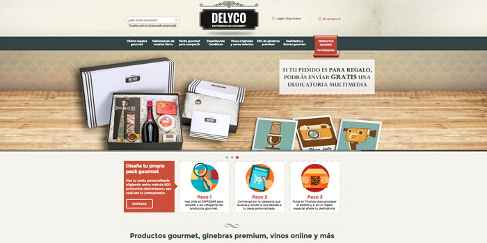 slider web de Delyco