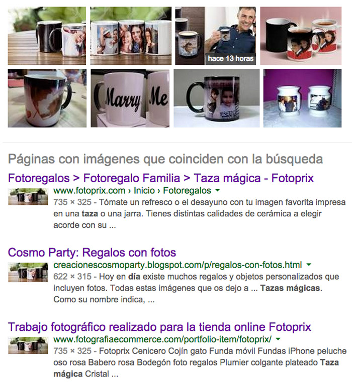 buscador de imagenes de Google