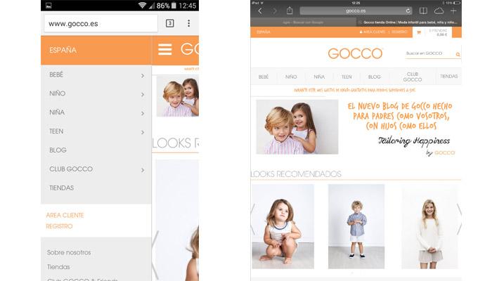 web gocco moviles