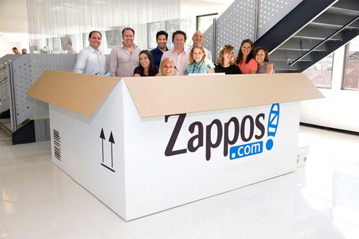 equipo zappos
