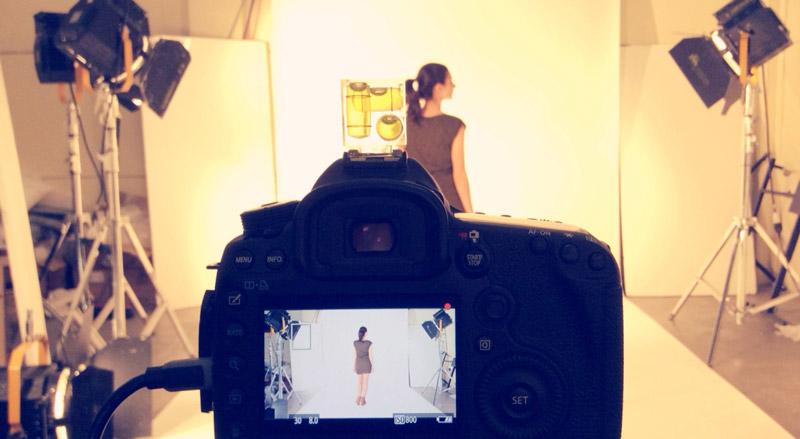 sesión grabación video producto