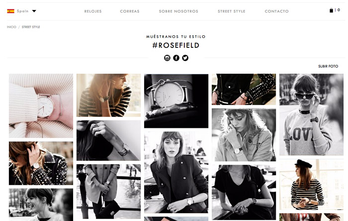 photoslurp relojes rosefield