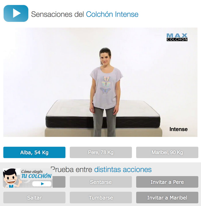 video interactivo ecommerce