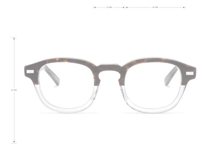 gafas con medidas