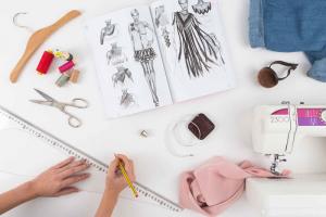 Bodegón diseño de moda