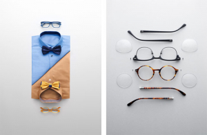 Bodegón marca gafas