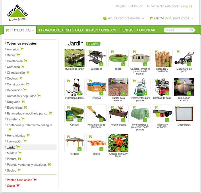 categorizacion ecommerce