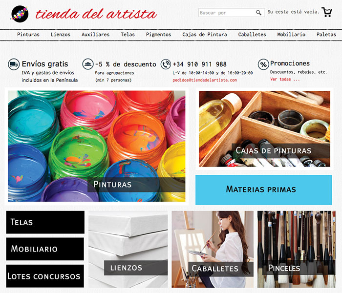 categorizacion ecommerce