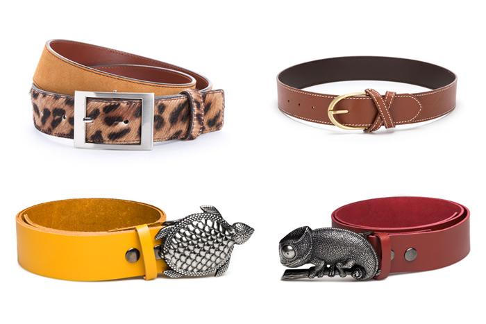 Fotografía de productos: cinturones