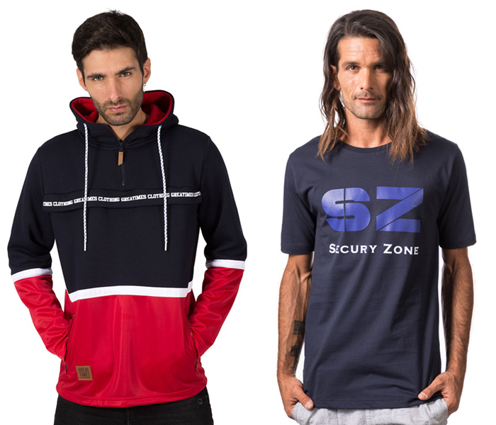 Fotografía con modelo (hombre) para eCommerce de moda para Secury Zone