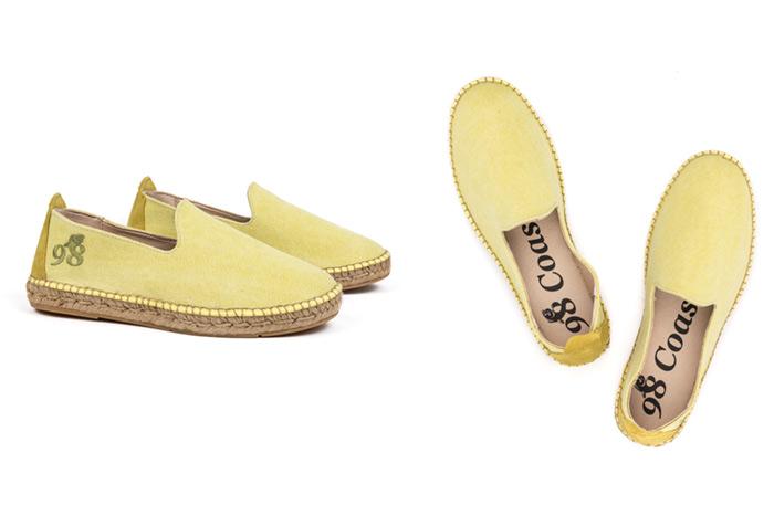 Fotografía de calzado: alpargatas