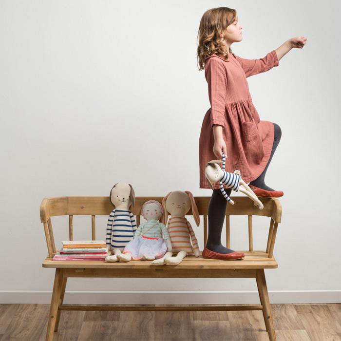 Fotografía creativa de moda infantil chicas