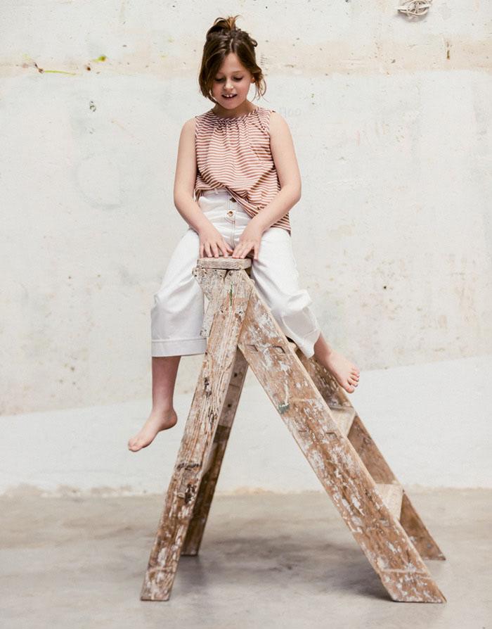 Fotografía de moda infantil y complementos