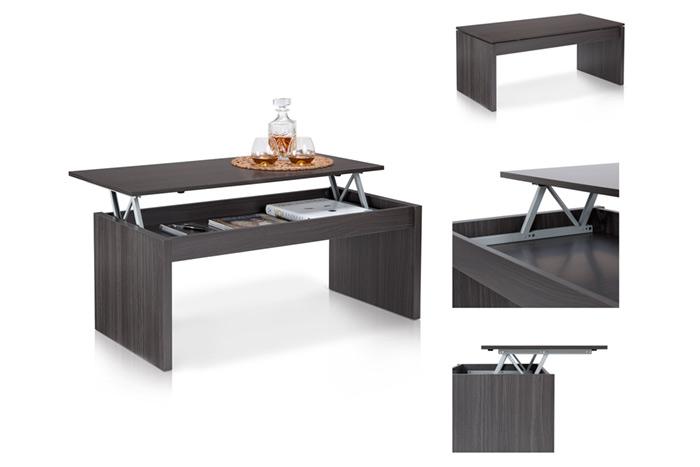 Fotografía de producto en uso: mesa elevable