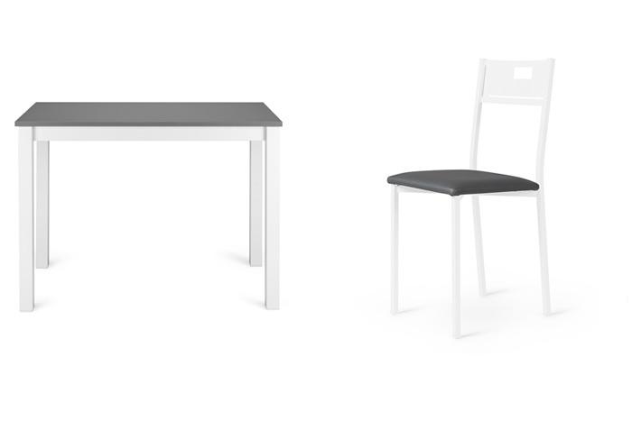 Fotografía de producto en uso: mesa y silla