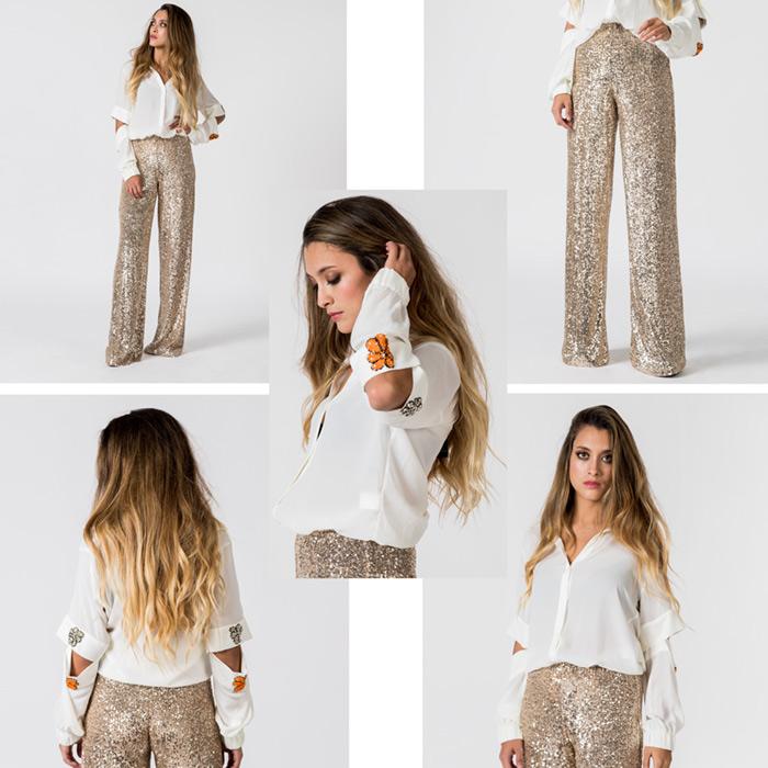 Fotografia textil con modelo para tiendas online