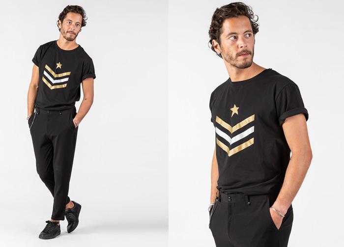 Fotografía con modelo (hombre) para eCommerce de moda para Starlite
