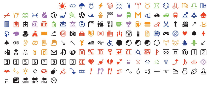 Emojis de NTT Docomo