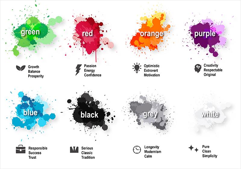 Las emociones de los colores