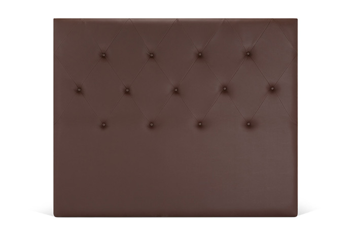 Cabecero polipiel marrón
