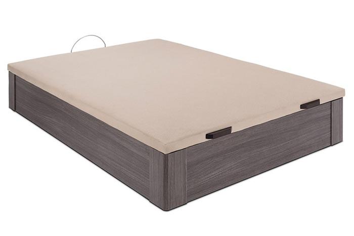 Canapé de madera con tapa polipiel