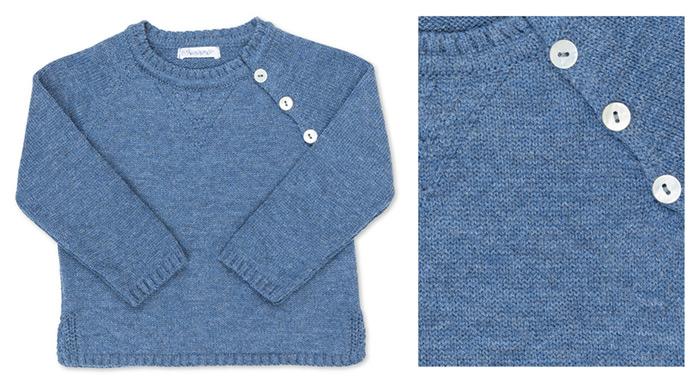 Jersey azul infantil