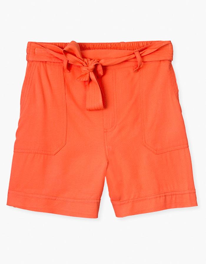 Pantalón naranja mujer