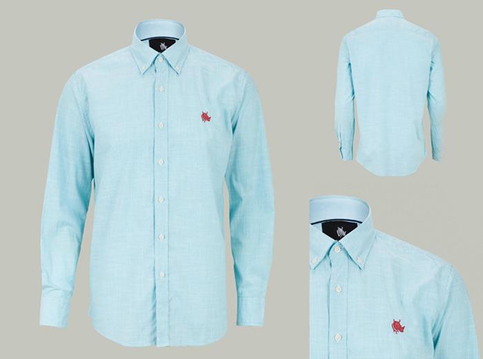 Camisa efecto fantasma