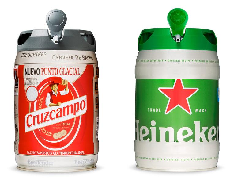 Foto de barriles cerveza