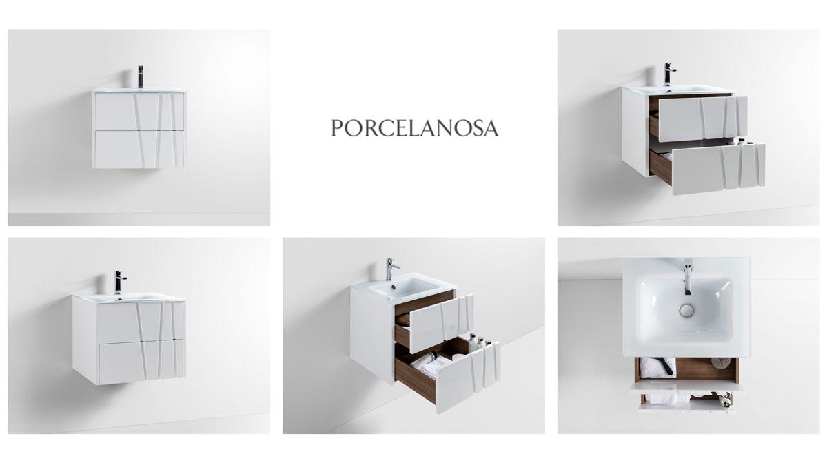 Fotografía de producto baño Porcelanosa