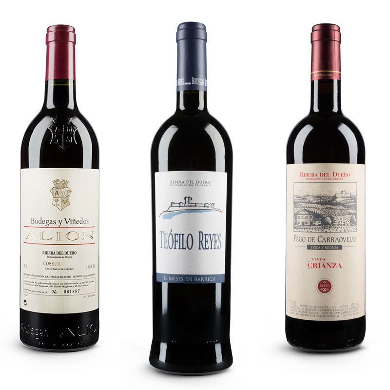 Fotografías botellas vino