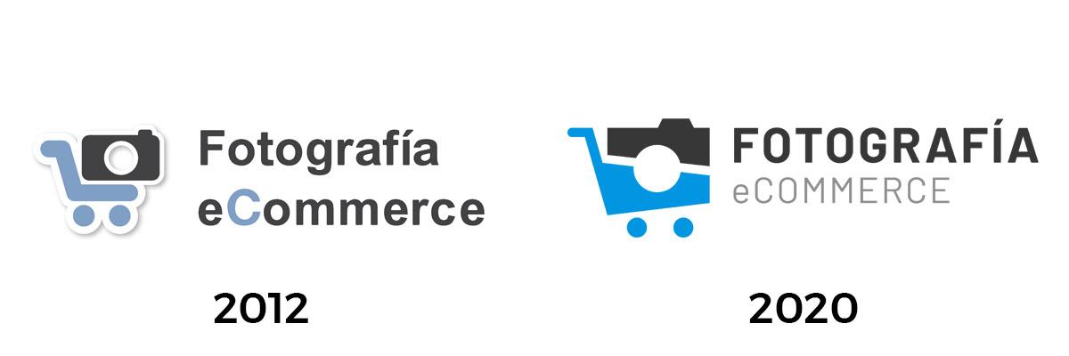 Foto eCommerce: Evolución del logo