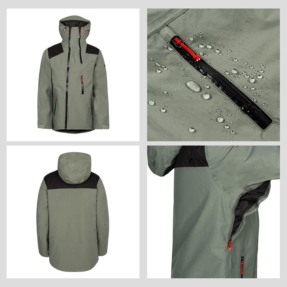 chaqueta esquí impermeable
