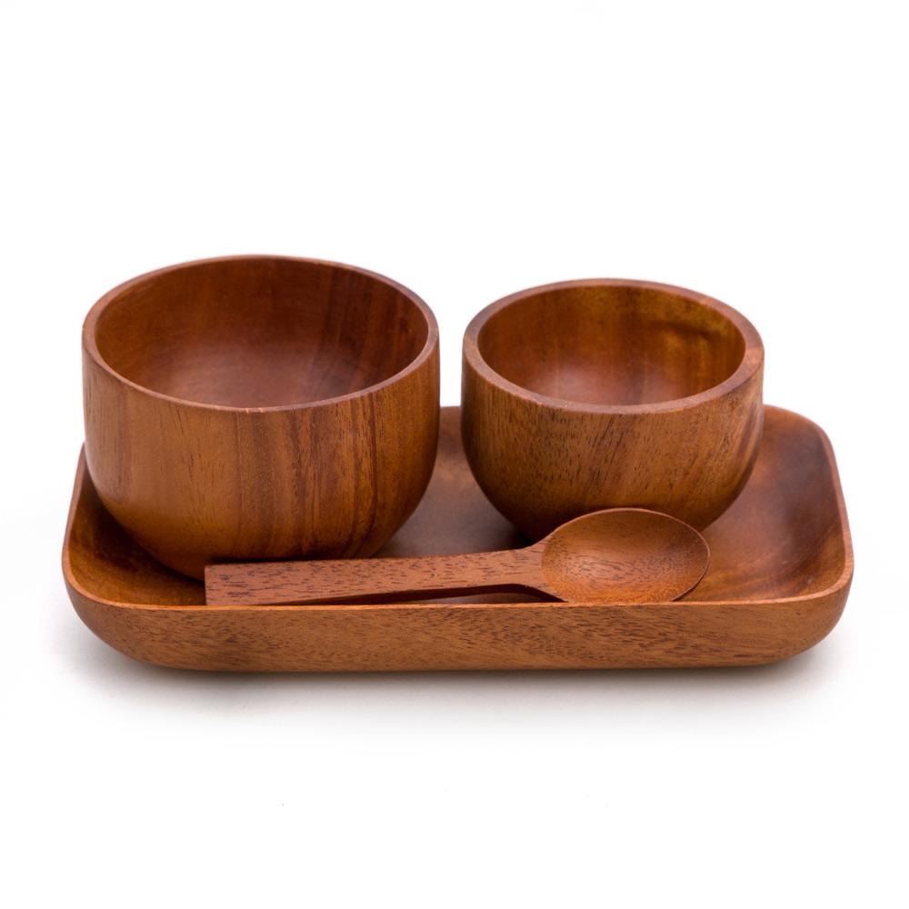 Juego de madera cocina