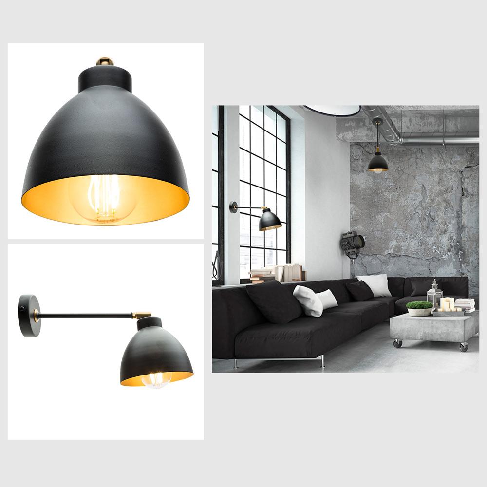Lámpara pared y techo