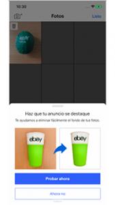 App móvil de Ebay