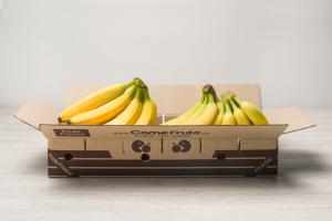Caja de plátano de Canarias