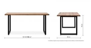 Medidas de una mesa de Box Forniture